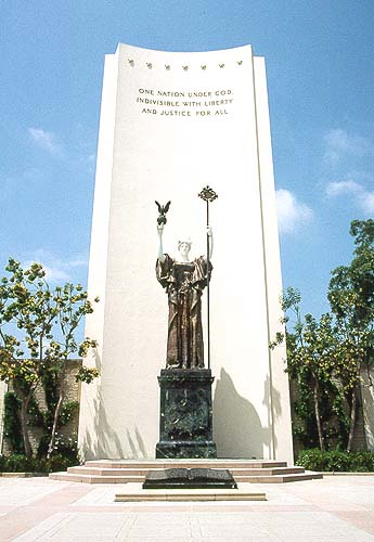 Statue Of Immortality At Forest Lawn Glendale Photo
