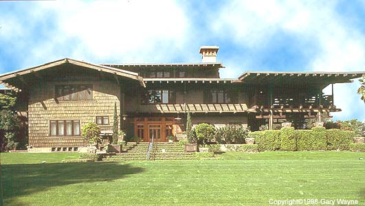 The Gamble House Photo