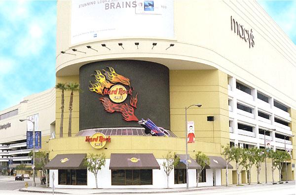 Hard Rock Cafe California Menu