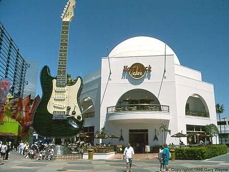 Hard Rock Cafe Newport Beach California