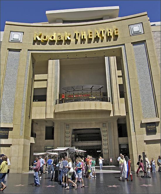 Hollywood Blvd Theater Kodak 78