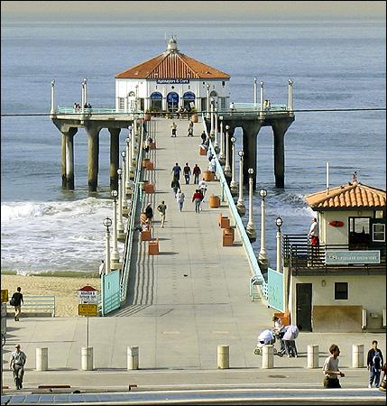 The Manhattan Beach Pier Photo