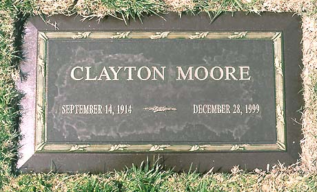The Lone Ranger S Grave Clayton Moore Photo