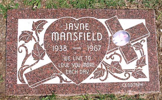 Jayne Mansfield grave