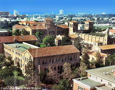 THE UCLA campus (photo)