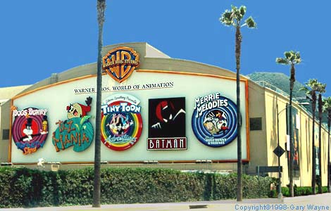 Image result for warner brothers studio
