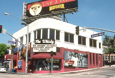 THE WHISKY (also known as the Whisky A Go-Go) a legendary nightclub where Jim Morrison and The Doors got their start; on the Sunset Strip ... & The Whiskey (photo) pezcame.com