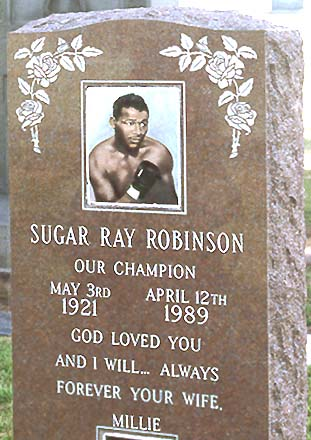 ... request use the form below to delete this sugar ray robinsons grave