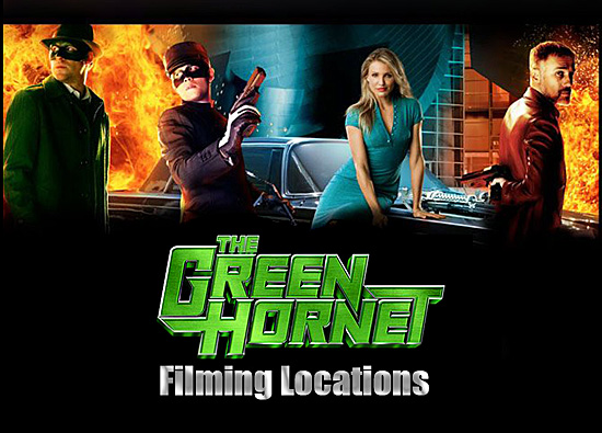 The Green Hornet - Filming Locations (part 1)