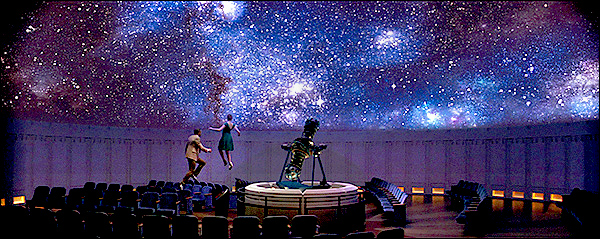 Image result for sebastian and mia planetarium