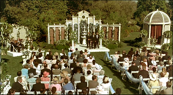 The Outdoor Setting For This Early Wedding Where Robbie Sings Was Gry Mall At