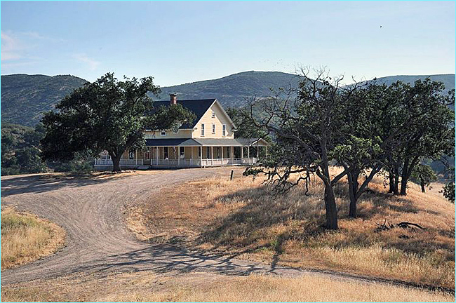 Blue Sky is a 6,500+ acre movie ranch. But before that, long before  Hollywood arrived, it was an actual ranch.