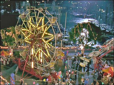 The O C Filming Locations Ferris Wheel