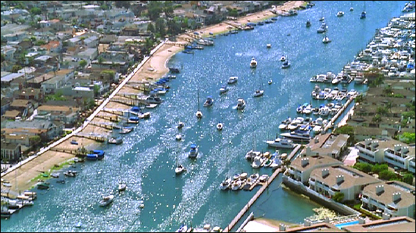 the o c establishing shots balboa island north