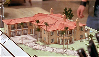 Scale model home building
